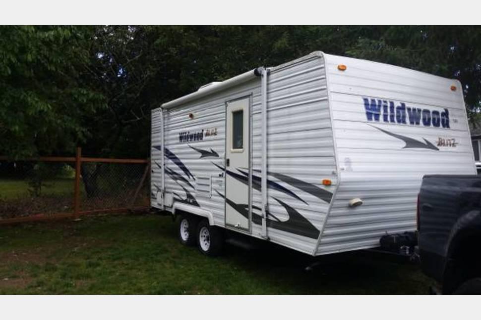 2008 Wildwood Blitz - Travel Trailer