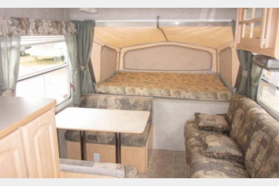 2004 Travelstar Popup Hybrid - Hybrid Popup Camper Trailer
