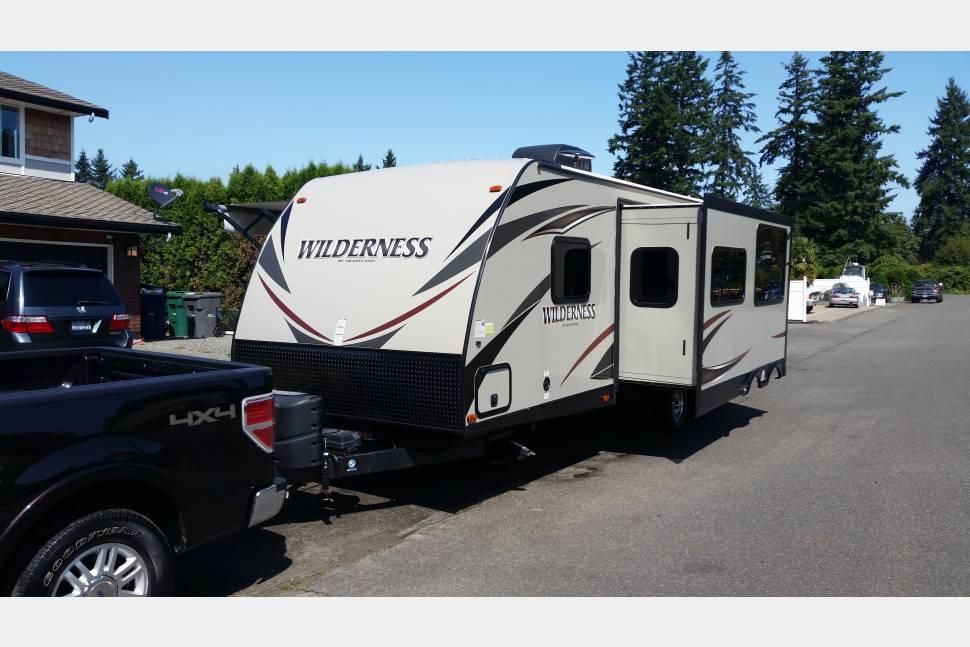 2015 Heartland Wilderness WD 2875 BH - Fantastic Fun Machine