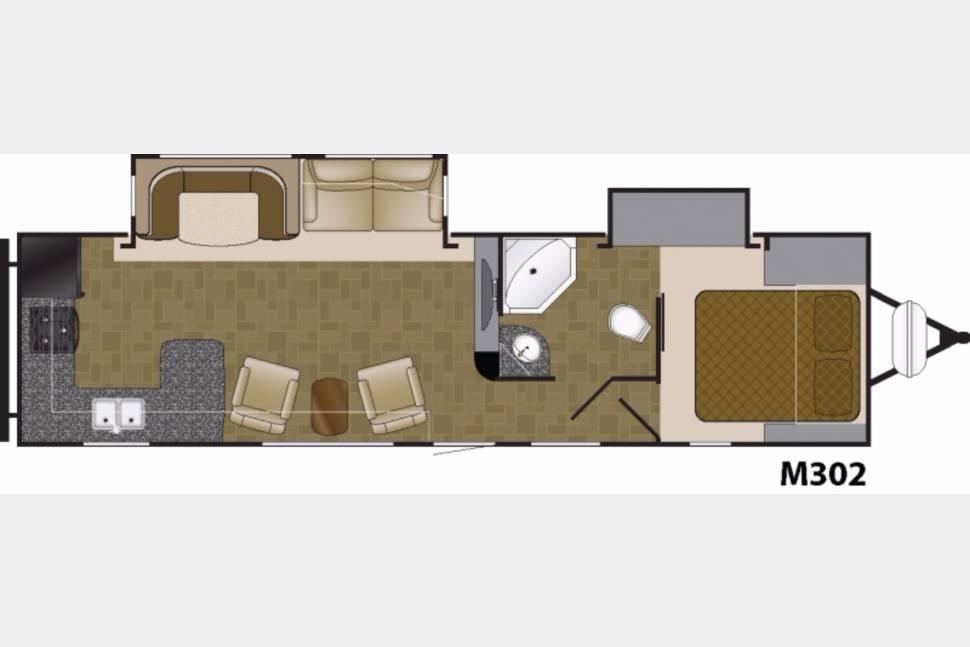 2017 Mallard M302 - Brand new 2017 Mallard m302