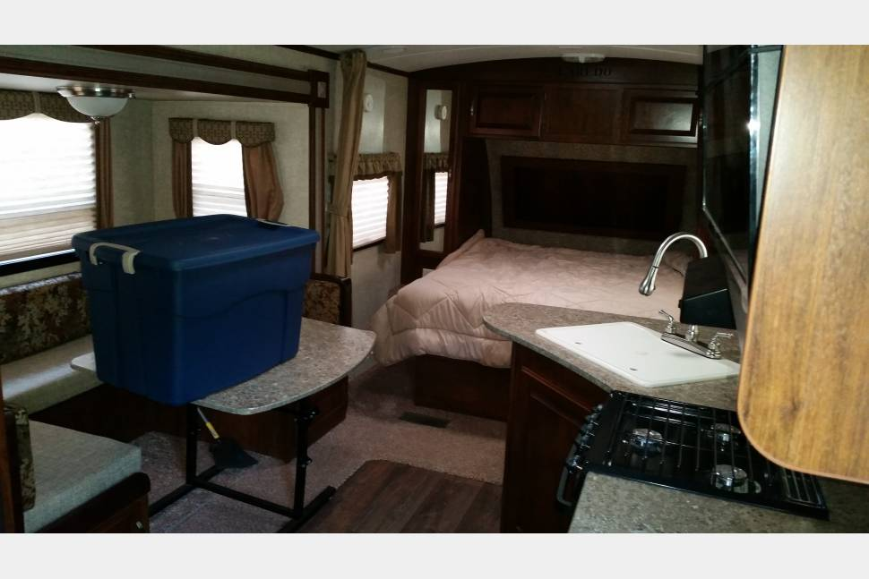 2013 Keystone Laredo 240mk - A suite in the wilderness