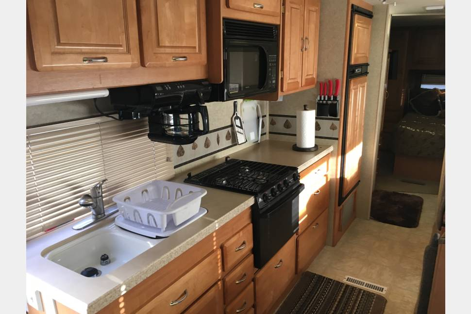 2004 Jayco Granite Ridge - This RV is comfortable, fun to drive, and the most exciting way to see Colorado, Utah, and many other places.