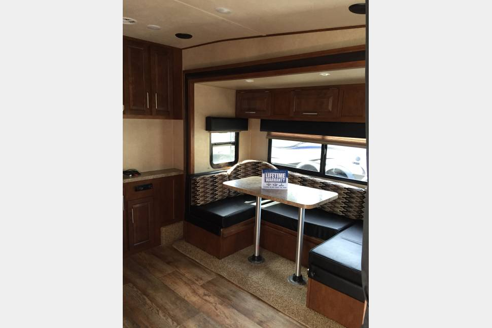 2016 Forest River XLR Toy Hauler - Toy Hauler Trailer close to Virginia Beach and Outer Banks, easy set up