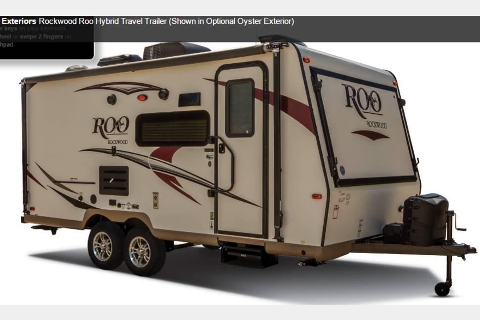2012 Rockwood Roo 21SS - Rockwood Roo Hybrid aka