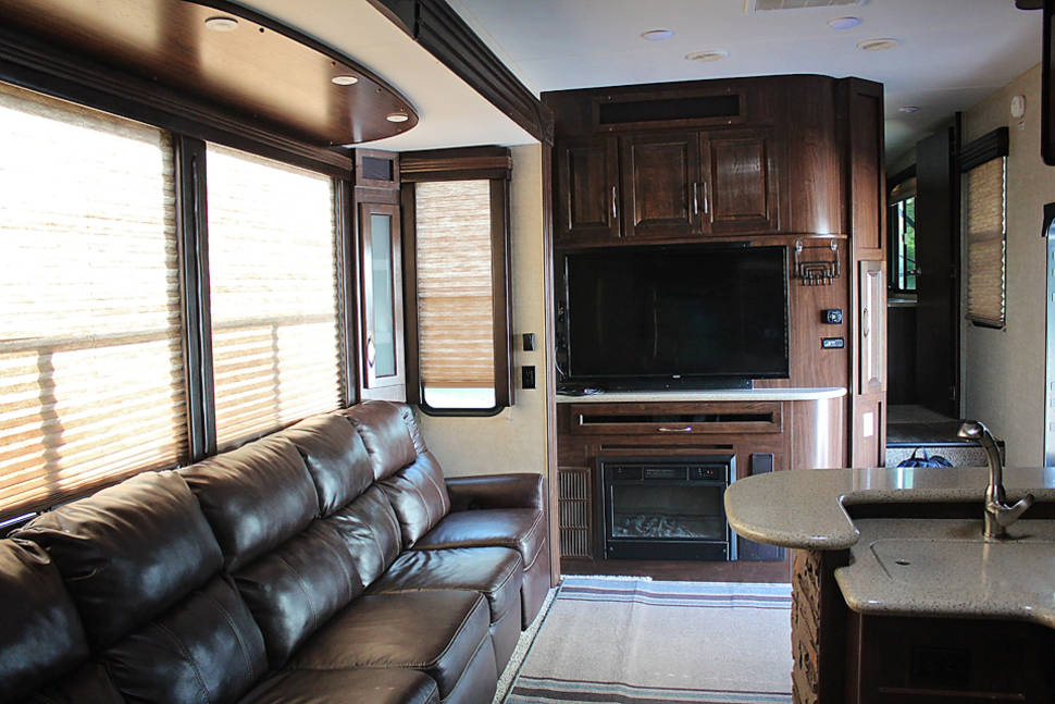 2015 Heartland Cyclone 4200 - Luxury Camping at it's Finest!