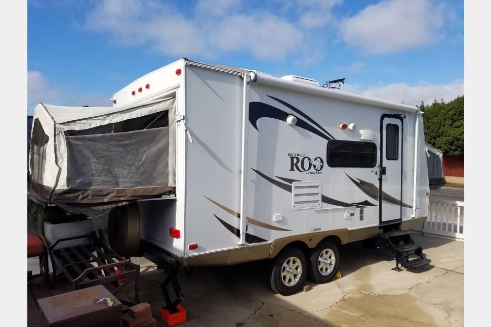 2012 Rockwood Roo 21ss Rv Rental In San Diego Ca