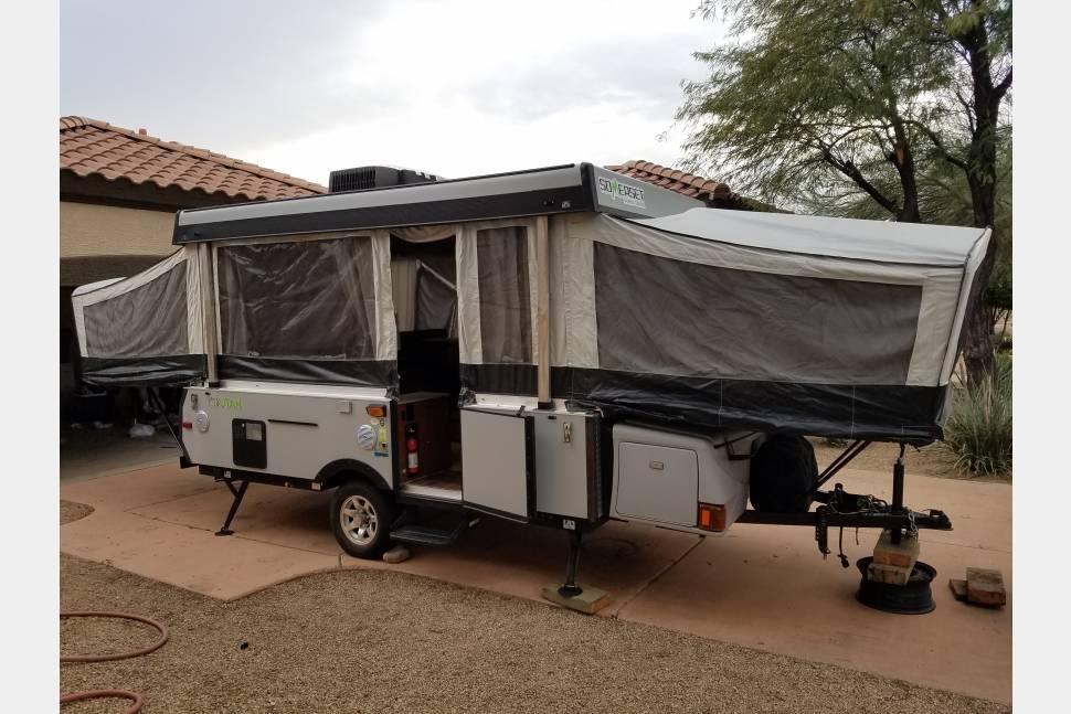 2013 Somerset Grand Tour Utah - Huge Pop-up Camper