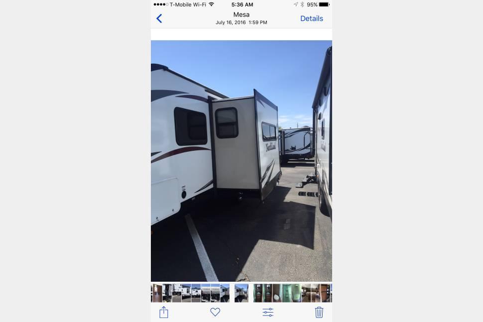 2016 Northland 21fbs - Northland 25 ft. Travel Trailer