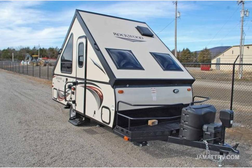 2015 Rockwell A122bh - Trinity! A-Frame Pop-up Trailer