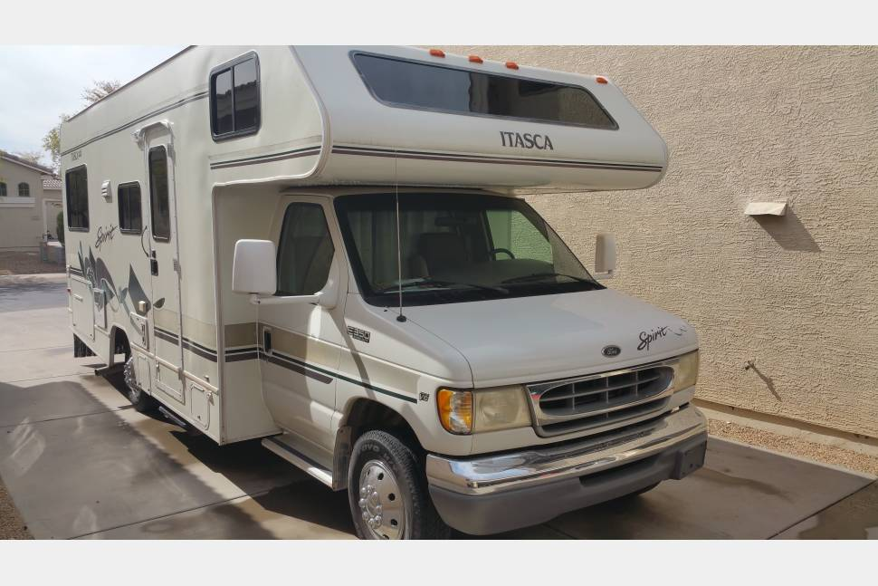 1999 Winnebago Itasca Spirit - 1999 Winnebago Itasca Spirit Ford 350 V10 24'