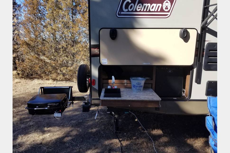 2016 Coleman Ultra Light - camping with style