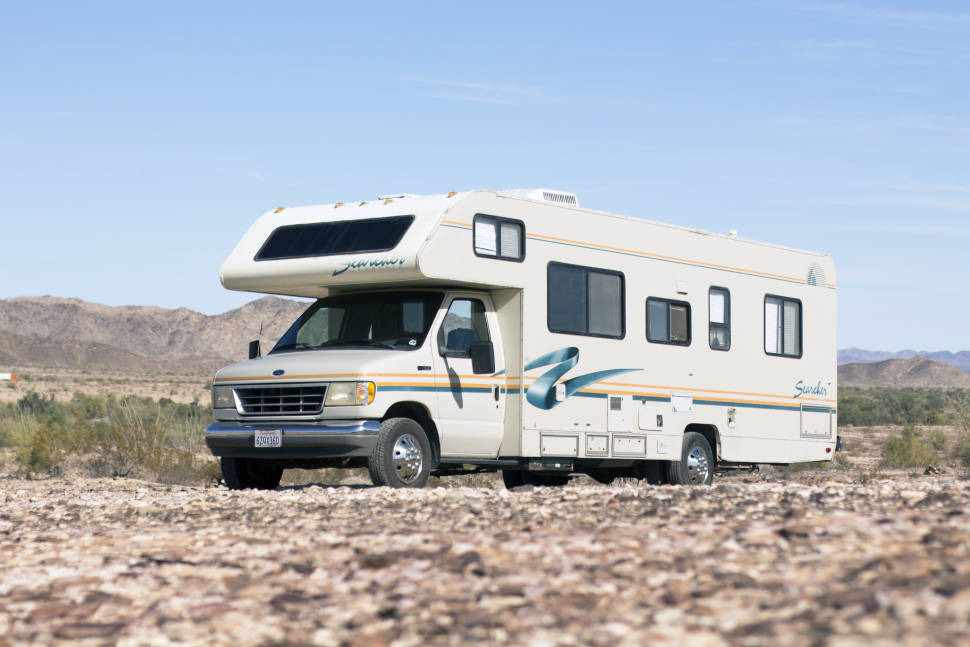 1995 Fleetwood Jamboree Searcher - Affordable RV - Jamboree Searcher 29' (Fully Self-Contained)