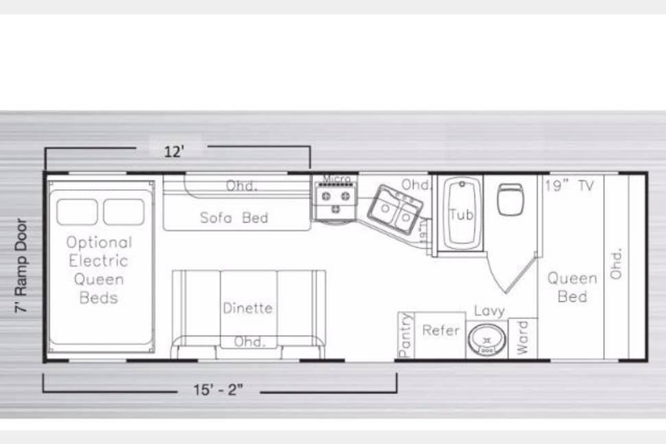 Eclipse Toy Hauler Floor Plans Wow Blog