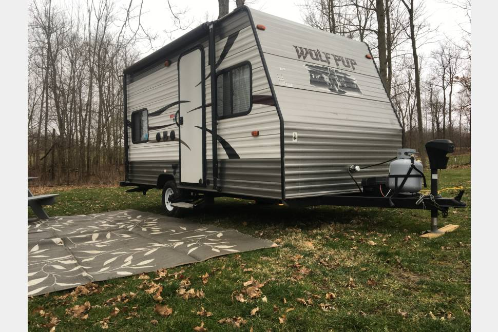 2013 Forest River Wolf Pup 16BH - Easy Hauler