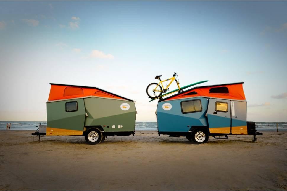 2014 Taxa Cricket - Cricket camper trailer. Your Backpacking Adventure Awaits