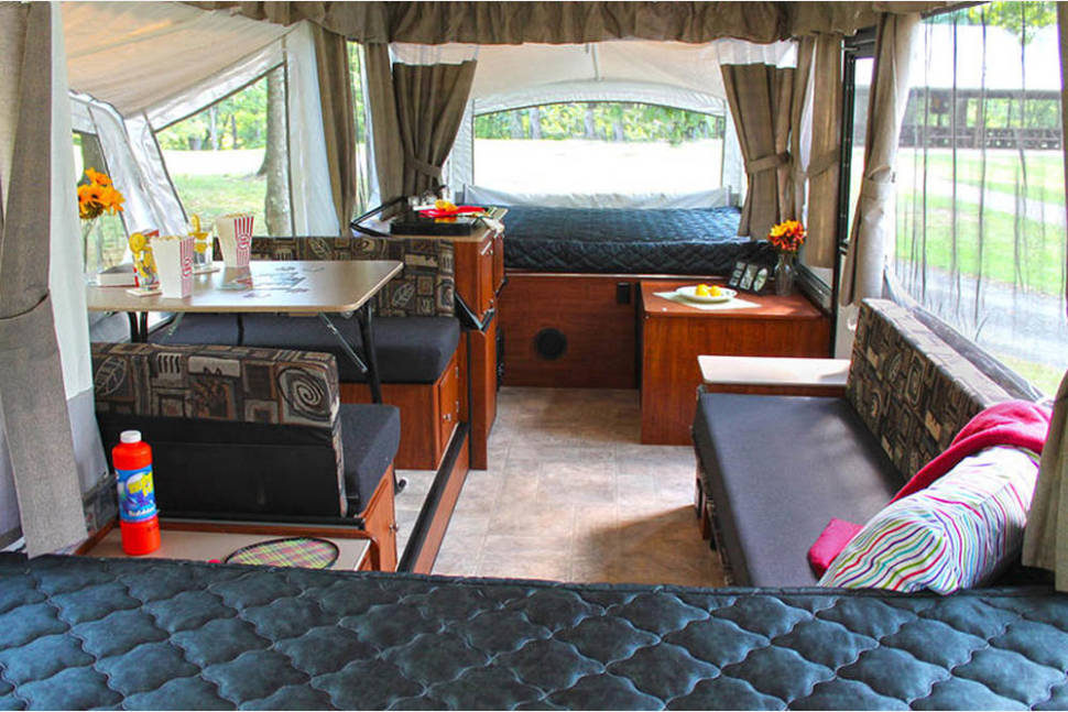 2016 Somerset Evolution E3 - New Sommerset E3 Tent Trailer - two king beds!
