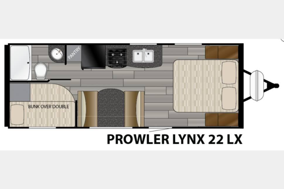 2017 Heartland Prowler 22' -