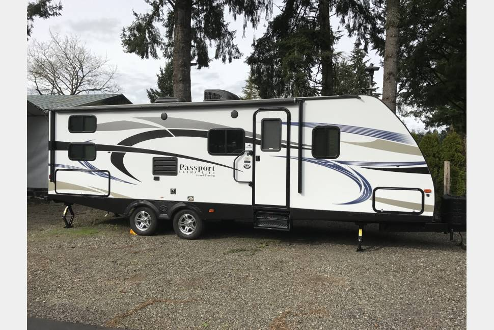 2017 Keystone Passport Ultra Lite Grand Touring - Our Happy Place