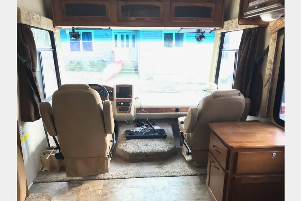 2013 Coachman Mirada - The Mason Travel Rig