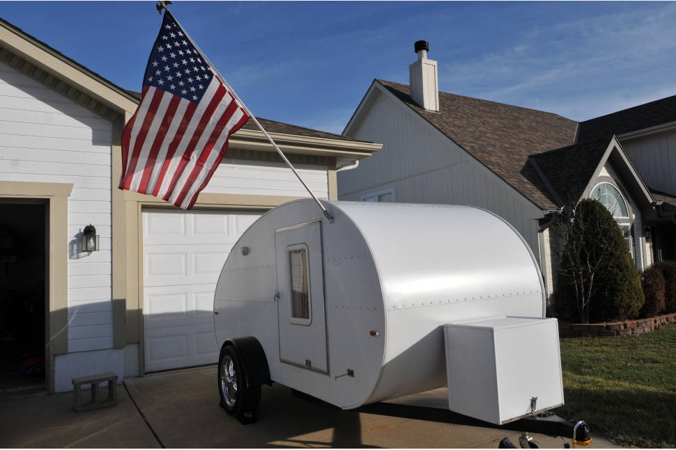 2015 Teardrop 1949 Modernaire (2015 Build) - 1949 modenaire designed teardrop trailer (built in 2015)