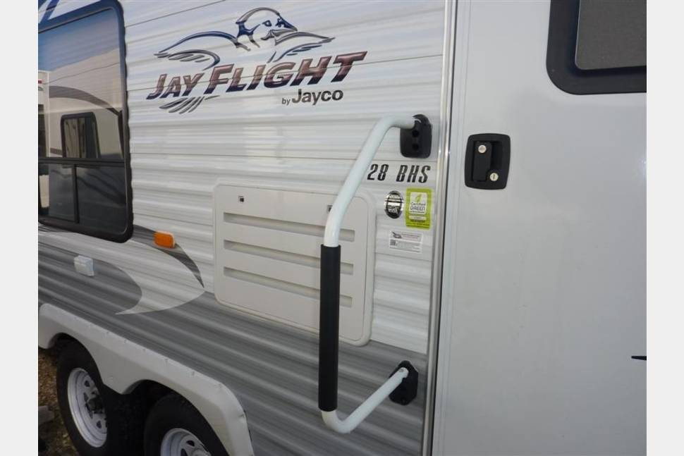 2012 Jayco Jay Flight 28 BHS Travel Trailer - 2012 Jayco Jay Flight 28 BHS Travel Trailer