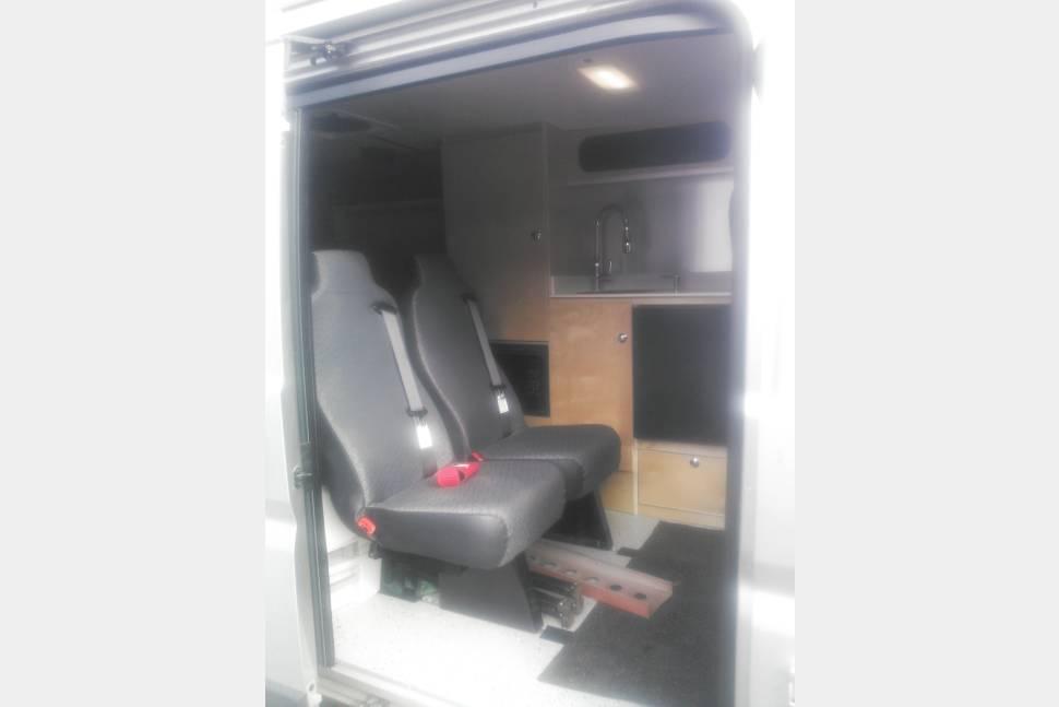 2015 SUMPVEE V3.15 Ram Promaster 1500 Camper Van - A real van camping experience #vanlife