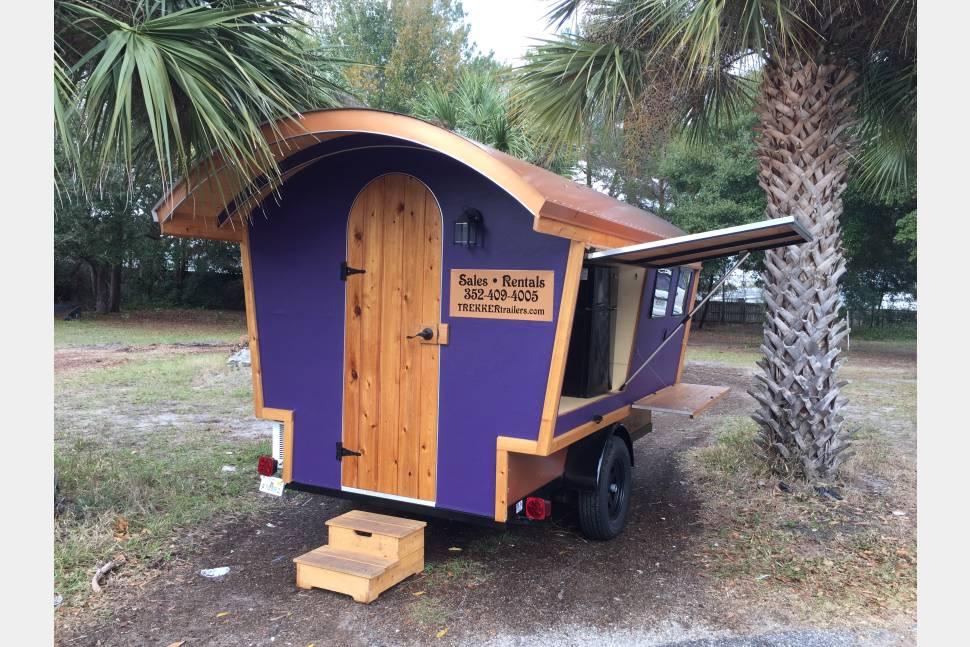 2016 Trekker Trailers Gypsy Wagon - Purple - Trekker Trailers Gypsy Wagon
