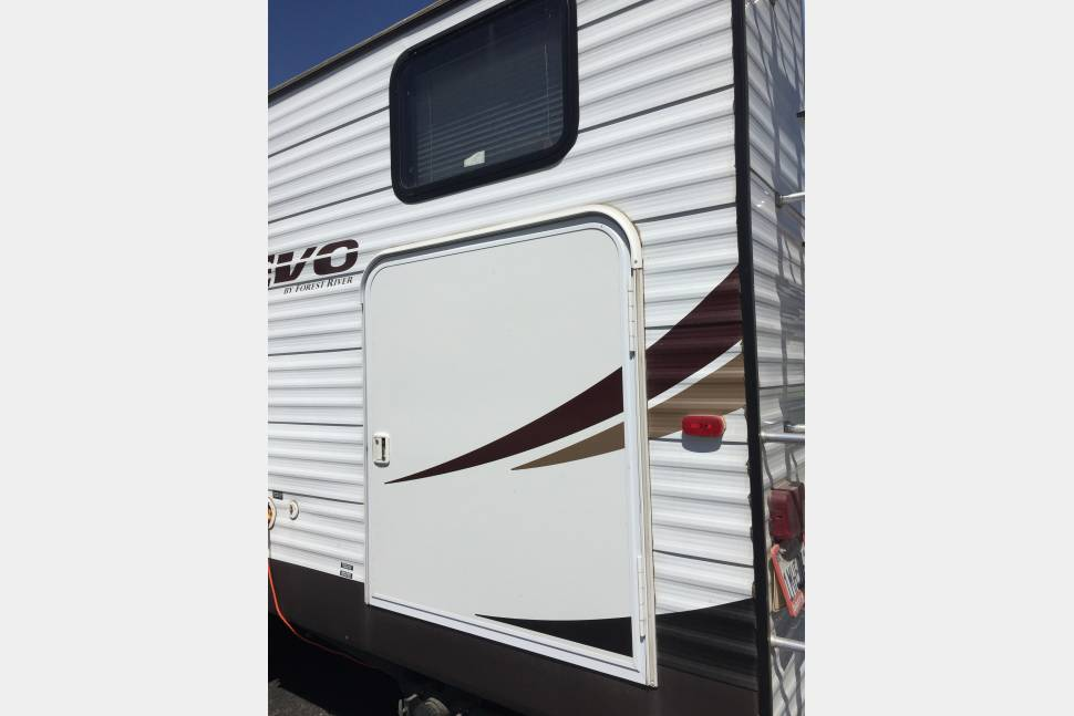 2014 Forest River Evo T2700 - Forest River Evo Travel Trailer T2700 Bunkhouse
