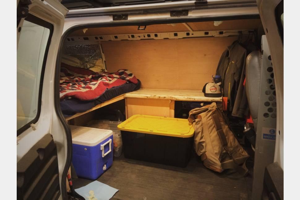 2004 Chevrolet Express 1500 - The Nomadic Gnar Base