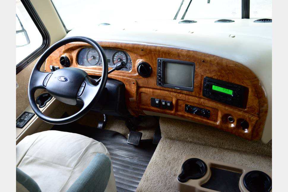 2007 Ford Hurricane - Bunkhouse Class A 3 Slides