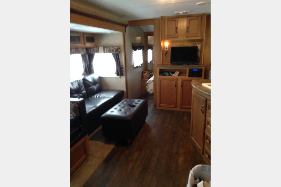 2014 KZ CONNECT - FAMILY FUN TRAVEL TRAILER