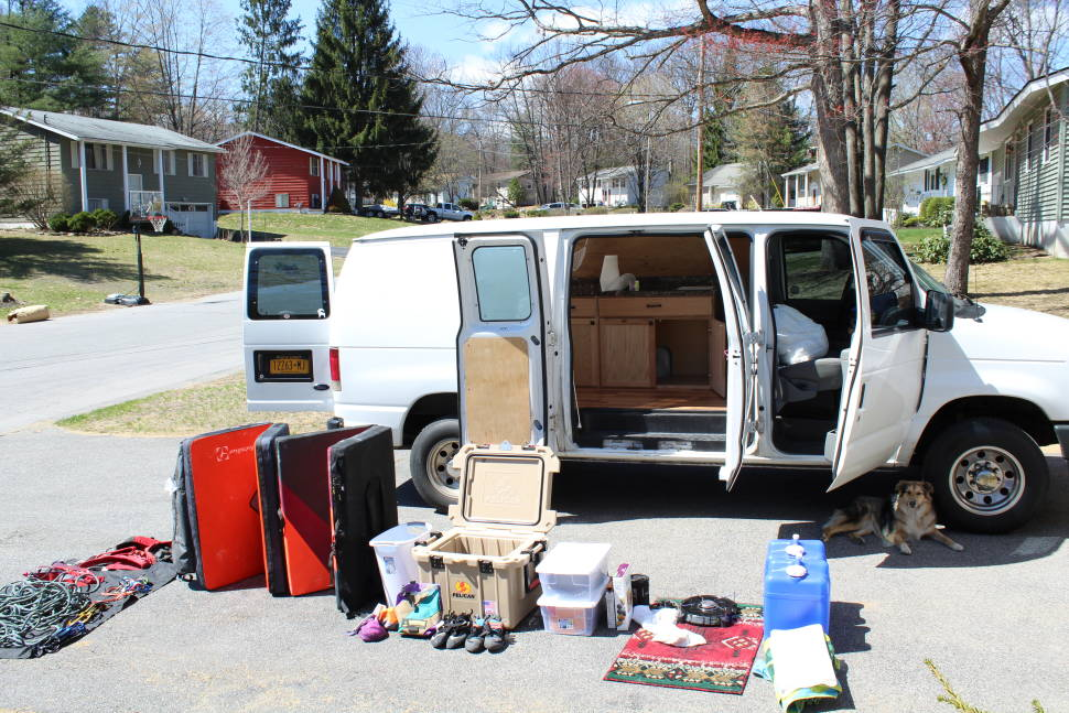 2008 Ford E-250 - East Coast Vanlife.