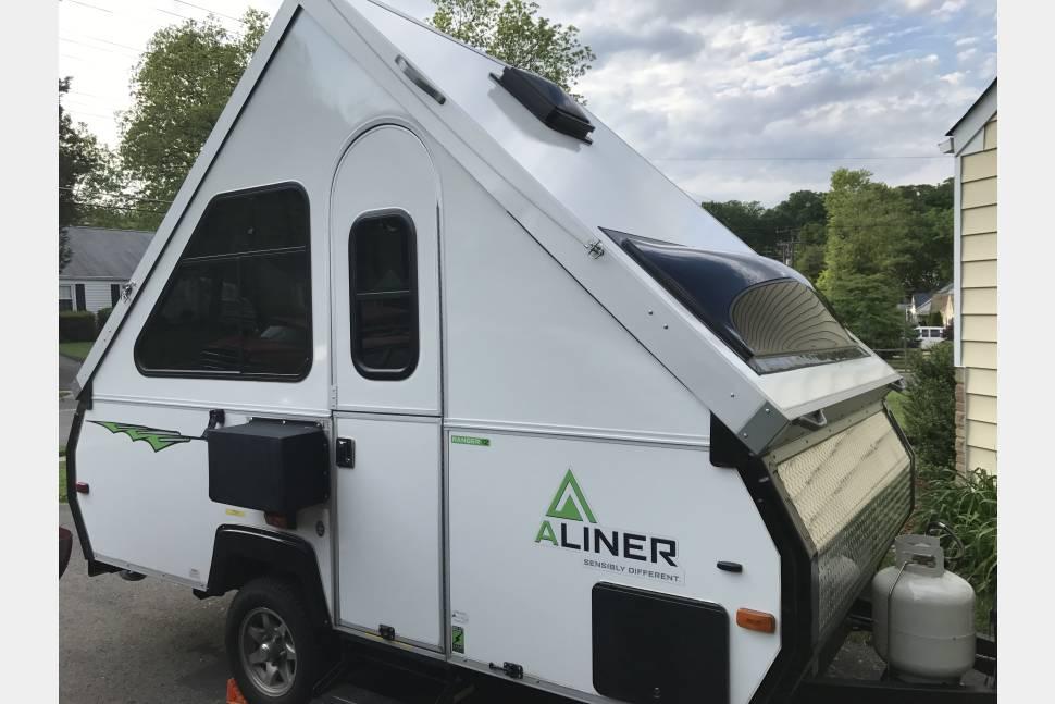 2017 Aliner Ranger 12 - Small Trailer For Big Adventures