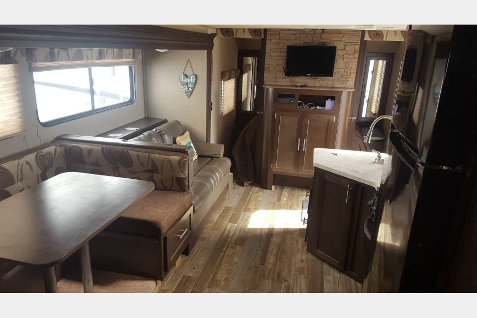 2016 Forest River Grey Wolf 26DBH - Roughing It In Style
