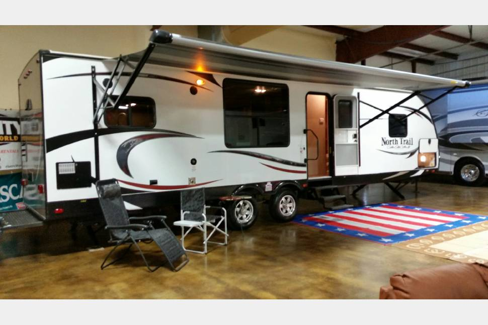 2015 Heartland Northtrail - My travel trailer is your best choice for your next trip !