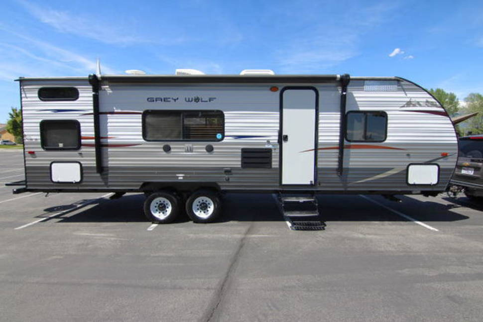 2014 Forest River Grey Wolf M-27BH (Ron's) - 2014 Cherokee Grey Wolf (Dad's big trailer)