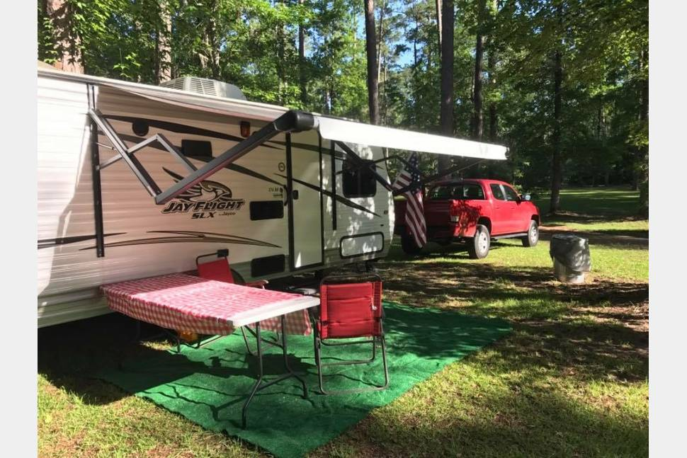 2016 Jayco 174 BH - Affordable Family Rental. Free Delivery To Florida Caverns