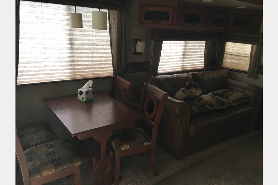 2012 Durango 2500 - Durango 2500 by KZ Rear Living Fifth Wheel