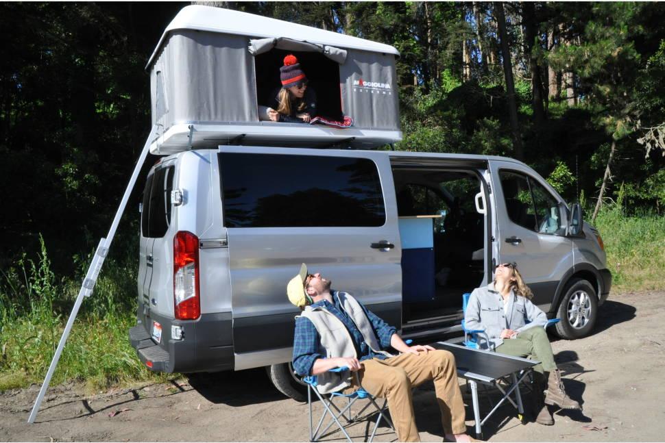 2016 Camper Van >> 2016 Ford Transit Campervan Rv Rental In South San Francisco Ca