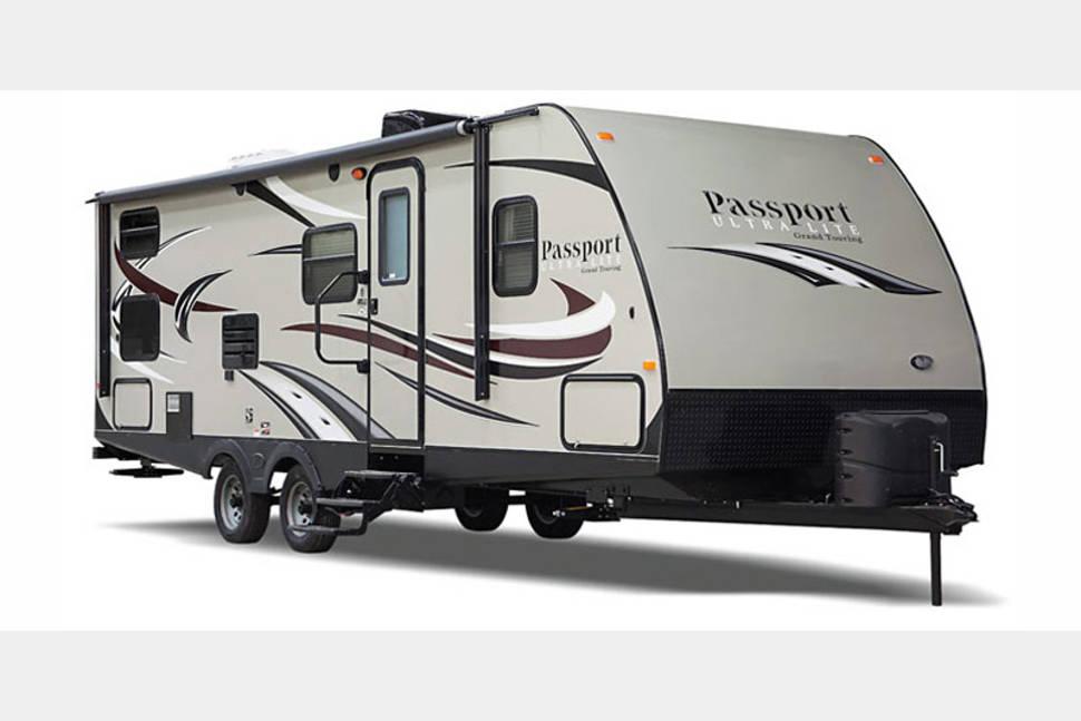 2017 Keystone Passport Grand Touring 2920bh - 2017 passport bunkhouse. Has 4 bunk beds. sleeps 10.