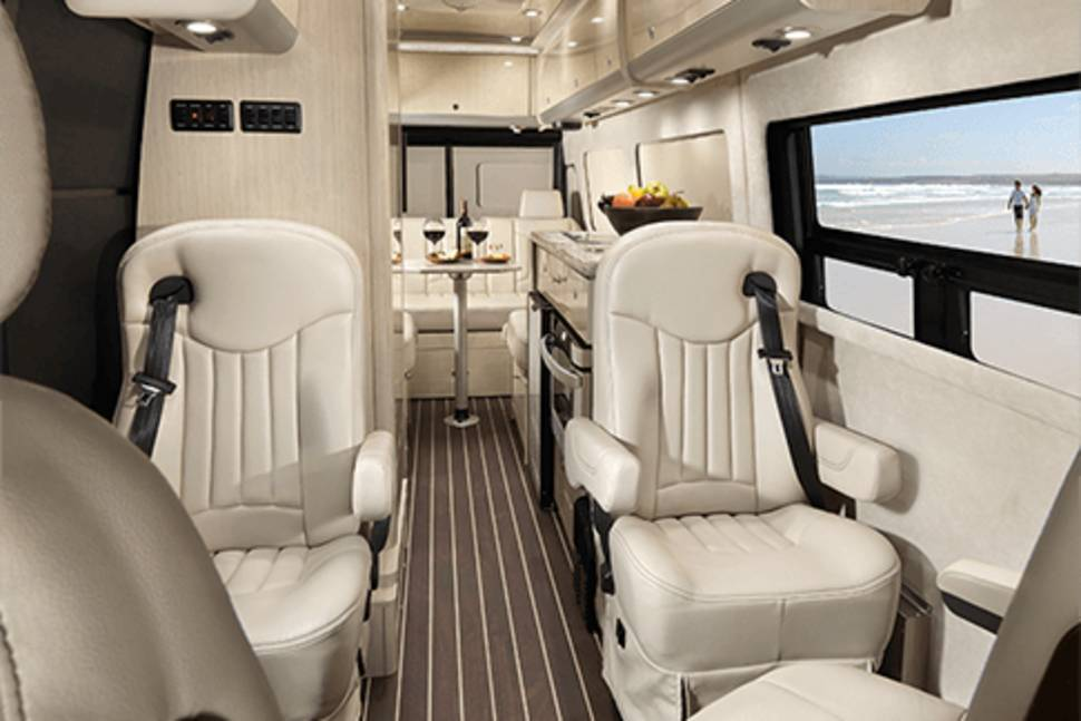 2014 Mercedes Benz Airstream Luxury 8 Passenger - Airstream 8 Passenger Luxury Motorhome