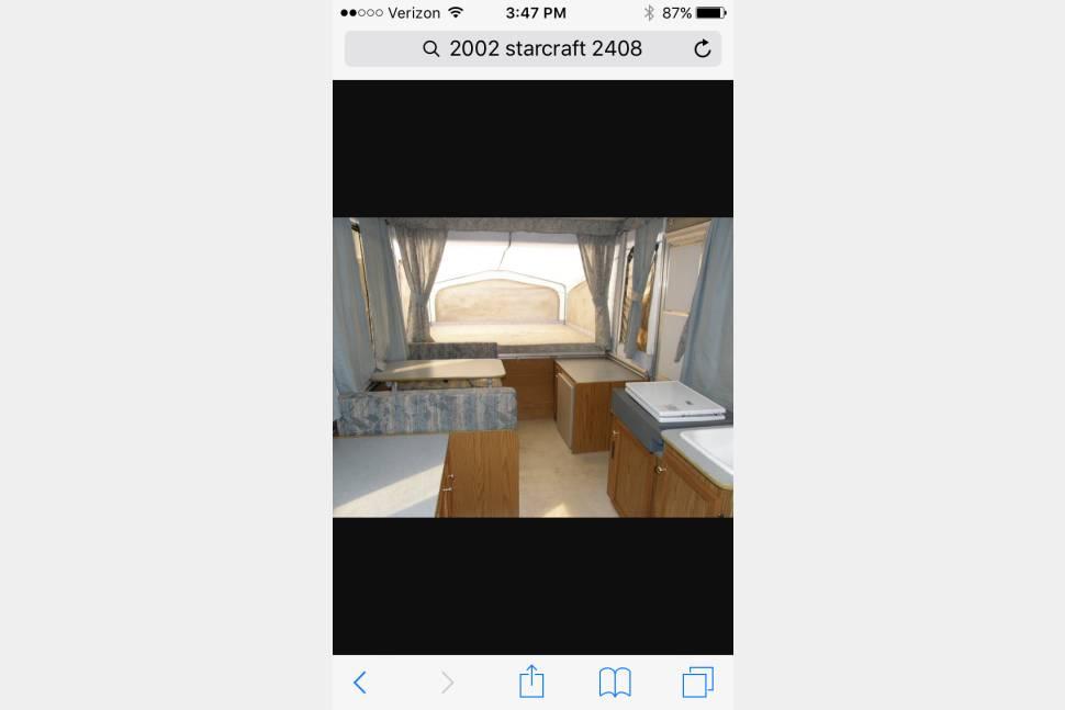 2002 Starcraft 2408 - Quick Vacation Trailer
