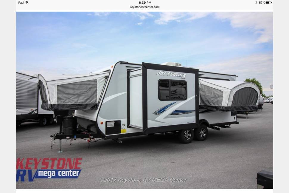 2017 Jayco Jay Feather Hybrid - The Ultimate 10 Person Camping Trailer!