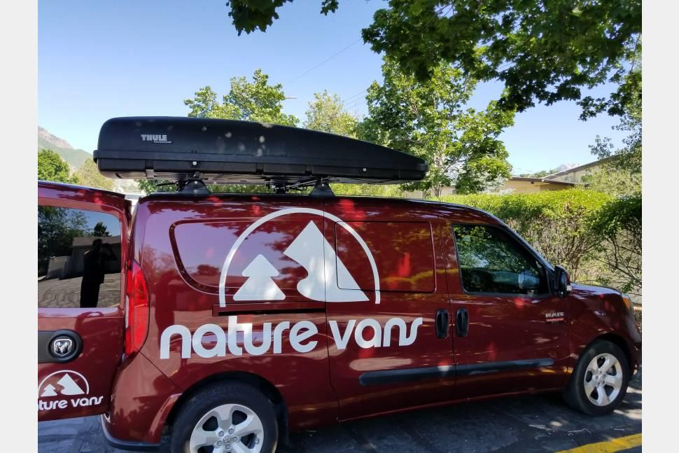 2015 Ram ProMaster City - Brand New Camper Van Ram Promaster City