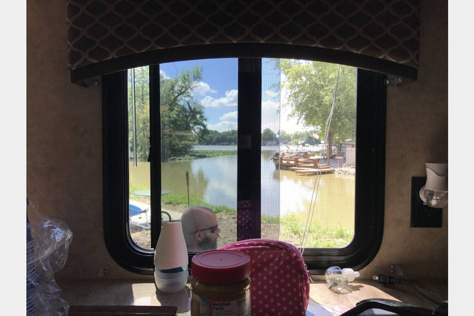 2016 Forest River Wildcat - Waterfront 2 bedroom 2 bathroom beautiful camper situated at Lotus Cove Campground