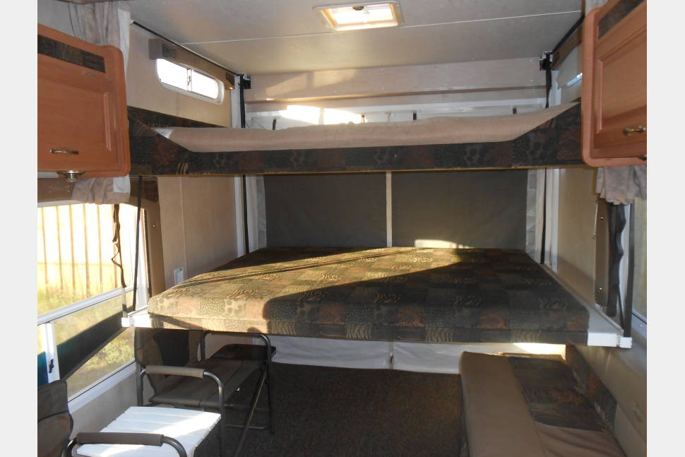 2009 Weekend Warrior Super Lite FS2300 - Back Country Camper / Toy Hauler