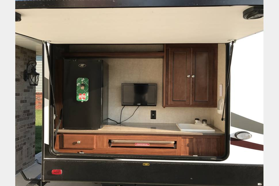 2015 Northtrail 32Buds Bunk - Heckuva good time-bunkhouse camper