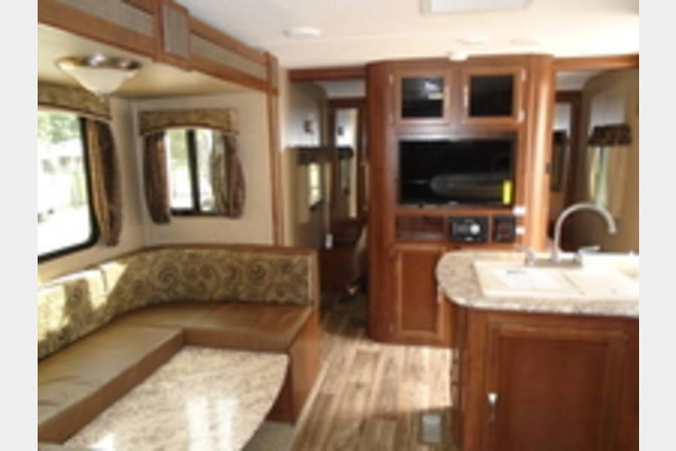 2017 Keystone RV Passport Grand Touring 2400BH - Ultra Lite - Bunk House - Tow With SUV or Small Truck