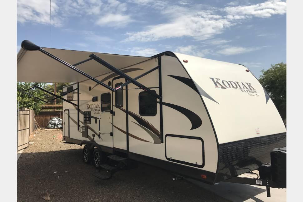 2017 Dutchmen Kodiak Express Bunkhouse - Williams Family Kodiak