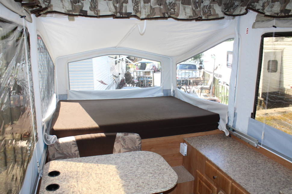 2010 Jayco Jay Series 1207 Pop-up - This is not your Grandfather's pop up camper! This 2010 Jayco pop-up camper is awesome and a family favorite.